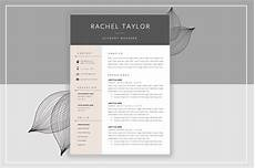 resume template creative market resume template cover letter resume templates