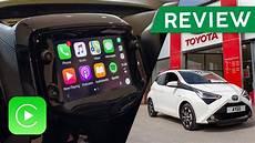 new 2018 toyota aygo apple carplay review