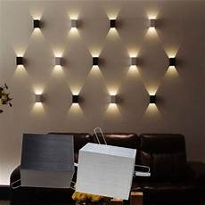 details about 3w led wall l hall porch walkway bedroom livingroom home fixture light black