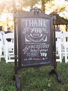 Wedding Signage Ideas 18 chalkboard wedding sign ideas you ll