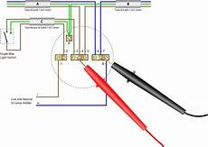 important safety procedure for working domestic lighting circuits light wiring