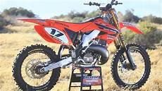 ultimate 2003 honda cr250 2 stroke build motocross