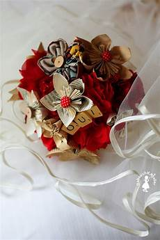 fleur tissu mariage tutoriel fabrique ton bouquet de fleurs en papier et