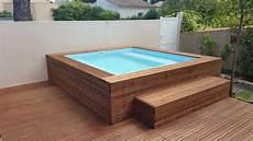 micro piscine bois mini piscines baln 233 o menuisier montpellier menuiserie