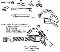 Rainbow Vacuum Wire Diagram by Eureka 6980 Canister Vacuum Parts