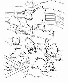 farm animals coloring pages to print 17173 farm animal coloring page barn yard pigs with images farm coloring pages farm animal