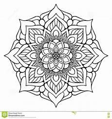 Mandala Malvorlagen Vector Indian Mandala Stock Vector Illustration Of Arab