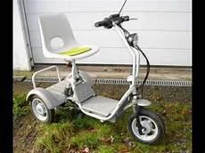 elektro dreirad seniorenmobil