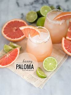 honey paloma cocktail grapefruit and tequila the little
