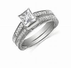 handcrafted vintage cheap diamond bridal 1 carat