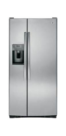 ge gss23gskss 33 inch side by side refrigerator with ice and water dispenser advanced water