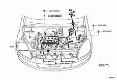 wiring cl for 1999 2005 toyota vitz scp10 japan