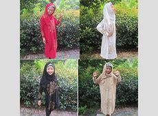 Kids Girls Dress Abaya Muslim Islamic Kaftan Worship Arab