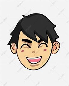 Gambar Ilustrasi Senyuman Kartun Yang Indah Wajah Senyum