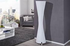 Moderne Design Stehle Helix L Weiss 160cm Stehleuchte