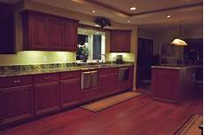 Kitchen Cupboard Lighting Ideas by Dekor Solves Cabinet Lighting Dilemma With New Led