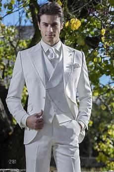costume italien de mariage homme blanc ivoire sur mesure