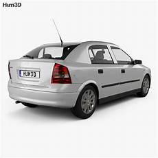 opel astra g liftback 1998 3d model vehicles on hum3d