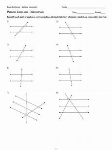 geometry worksheet identify each pair of angles answers 752 3 parallel lines and transversals pdf elementary geometry geometry