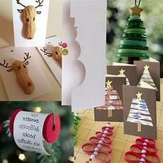 weihnachtsdeko selbst machen bastelideen zu weihnachten rentiere nussschalen basteln