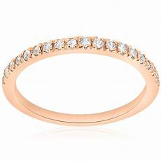 1 4ct diamond ring 14k rose gold womens diamond wedding