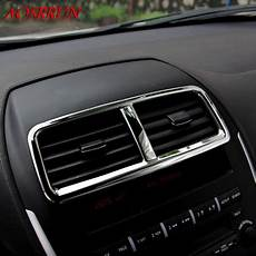 automobile air conditioning service 2012 mitsubishi galant interior lighting stainless steel car centre air conditioning cover stickers car accessories 3d sticker for