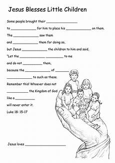 jesus welcomes the children bible stories for kids bible lessons for kids sunday school kids