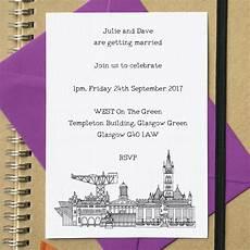 Wedding Invitations Glasgow