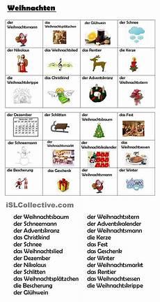 weihnachtsbingo nemčina weihnachtsbingo