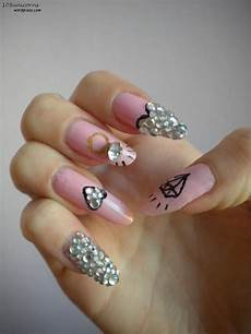 diamond nails unicorns everywhere