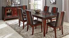rooms to go kitchen furniture sofia vergara savona chocolate 5 pc rectangle dining room