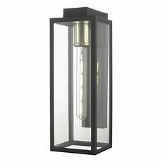 modern outdoor wall lantern in matt black finish par1522 lighting from the home