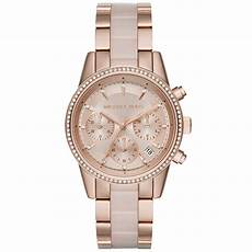 mk6307 michael kors ritz gold chronograph