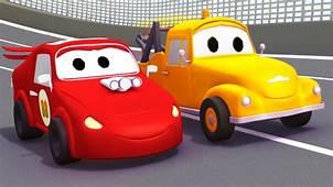 Auto Da Corsa Rossa E Tom Il Carro Attrezzi In Car City