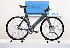 the elbike is a custom electric bicycle with a slick