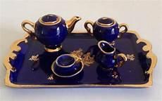 Limoges Porcelain Tea Set And Tray 900x566