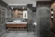 salle de bain et gris salle de bain gris et bois id 233 es et astuces pour une