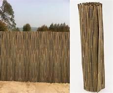 Canisse En Bambou Entier 3 X 1 50 M Occultation Naturelle