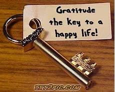 the key to being a three blocks that keep us from living a happy grateful life