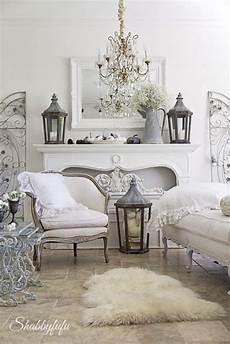 make a white living room chic shabby chic living room ideas