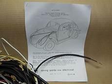 1965 Vw Volkswagen Bug Sedan Complete Wiring Works Harness