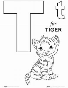 T Is For Thanksgiving Coloring Pages Letter T Coloring Pages Getcoloringpages