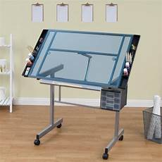 table a dessin ikea studio designs vision craft station with glass top plus