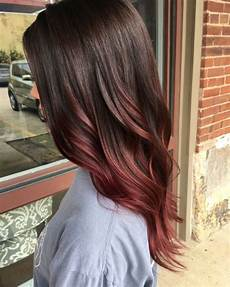 brown to ombr 233 ombre hair mahogany hair