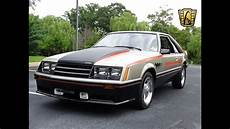 1979 ford mustang pace car gateway classic cars