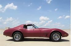 1975 chevrolet corvette low miles numbers matching original paint no reserve for sale photos
