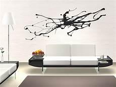 www wandtattoo wandtattoo abstrakte kunst moderner tintenfleck