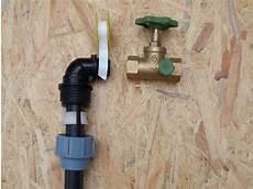 wasserleitung selbst verlegen systeme wasseranschluss im garten kaltwasserleitung bauen de