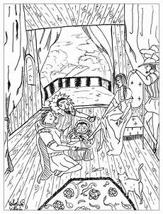 cinderella tales coloring pages