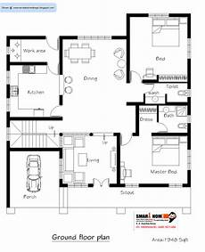 house plan design kerala style kerala home plan and elevation 2811 sq ft